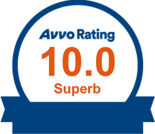 Top Lawyer for DUI & DWI, 10.0 Superb Avvo Rating